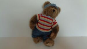 """Boyds Bears Boyds Best Dressed Series """"Tommy Mcbeanster"""" 10"""" Tall EC"""