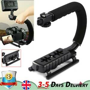 C-Shape Stabilizer Bracket Video Handheld Handle Grip for Camcorder Camera DSLR