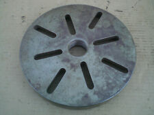 "10 1/2"" diameter metal lathe face plate 1 7/8 - 8 thread"