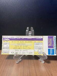 RADIOHEAD Concert Ticket Unused Vintage June 18 2001 Woodland Pavilion