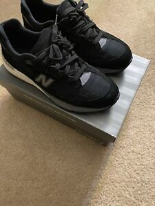 New Balance 992 Black Grey Made In Usa size 9.5 M992BL USED VERY  GOOD SHAPE
