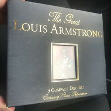 The Great Louis Armstrong - 3CD Box Set - Greatest Hits Best Of