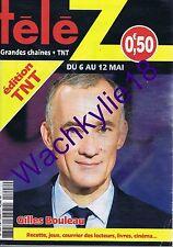 Télé Z n°1808 du 06/05/2017 Gilles Bouleau