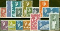 South Georgia 1963-69 set of 16 SG1-16 V.F MNH