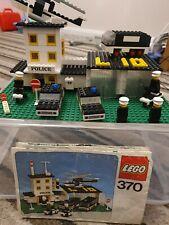 Lego 370 Police Headquarters Station 1976 Vintage Incomplete