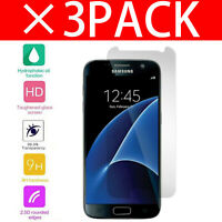 100% Genuine Tempered Glass Screen Protector Protection For Samsung Galaxy S7