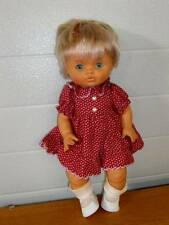 "Famosa ~ Cute 15"" Vinyl Doll Made in Spain"