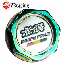 MUGEN PEWER Engine Oil Filter Cap Fuel Tank Cover Badge for Honda NEO CHROME