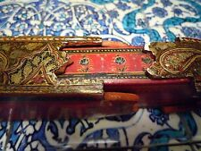 Islamic/ Middle Eastern, ANTIQUE PERSIAN HAND PAINTED QALAMDAN PEN BOX 1850-1899