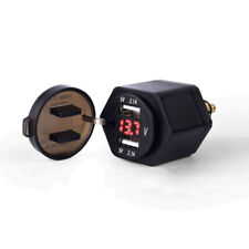 Motorcycle Dual USB Charger Adapter For BMW F800GS F650GS F700GS R1200GS R1200RT