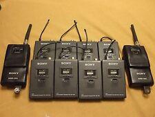 Sony Wireless Microphone System, WRR 810A, WRT 820A