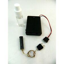 Generatore Fumo + Boccetta Olio + Alimentatore a Batteria Effetto Fumo Presepe T