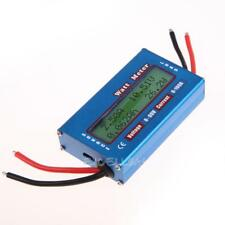 Simple DC Power Analyser Watt  Volt Amp Meter 12V 24V Solar Wind Analyzer E0Xc