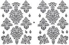 L Wand Tattoo Set BAROCK Raum Deko Wandtattoo Klebe Sticker 26 Ornamente Neu