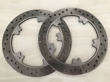 2016 V-Rod Muscle Front Brake Rotors Pair 900 Miles 44553-06A OEM