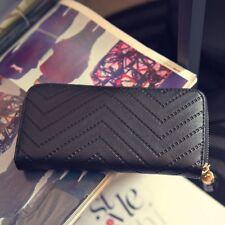 Women Leather Clutch Long Wallet PU Card Holder Lady Purse Envelope Bag Handbag