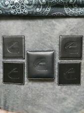 Cummins Engine Leather Coaster Set