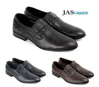 Mens Slip On Smart Formal Shoes Casual Loafers Dress Office Size 6 7 8 9 10 11
