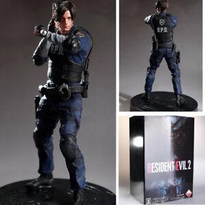 Capcom Resident Evil 2 Remake Biohazard 1/6 Leon Limited Edition Statue Figure