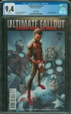 Ultimate Fallout #4 CGC 9.4 2nd print variant Bagley cover 1st Miles Morales