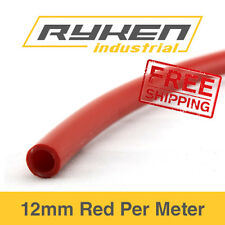 12mm Hose Flexible - Nylon - Red / Tube - Pneumatic Air Line / Per Meter