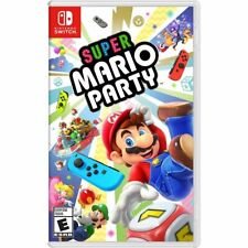 Super Mario Party - Nintendo Switch Brand New Factory Sealed