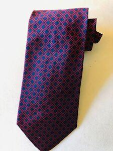 Ralph Lauren Men's Silk/Cotton Mogador Tie Boardroom Ready! EUC