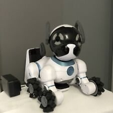 Wowwee Chip White Robot Toy Dog With Charging Stand & Cord 2015 Works 0805