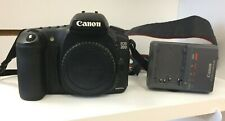 CANON EOS 20D 8.2 MP DIGITAL SLR CAMERA - BLACK (BODY ONLY) W/ CHARGER