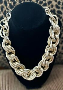 Traci Lynn Gold Tone Rope Necklace! 5/5