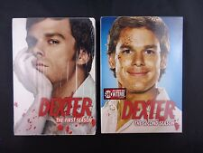 DEXTER 1st and 2nd Season Complete DVD Factory Sealed NEW - Lot of 2