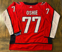 #77 TJ Oshie Washington Capitals Jersey - Adult Large (52)