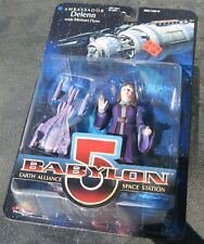 Babylon 5 Ambassador Delenn figure with Minbari Flyer -Exclusive Premiere Moc