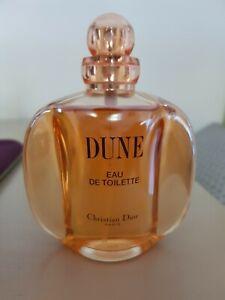 Dior Dune EDT Eau De Toilette Perfume Fragrance 100ml 95% full