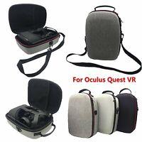 For Oculus Quest VR Travel EVA Hard Storage Carry Case Protective Shoulder Bag