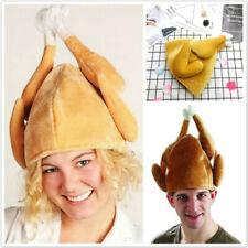 Creative Funny Christmas Carnival Turkey Hat Adult Xmas Costume Accessory ONE