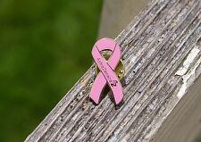AstraZenec Pink RibbonBreast Cancer Awareness  Metal & Enamel Pin Pinback