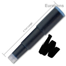 Cross Standard Sized Fountain Pen Ink Cartridge Refills - BLACK 8921