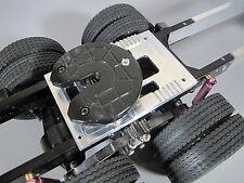 Aluminum Fifth Wheel Coupling A Mount Plate Tamiya 1/14 King Knight Grand Hauler