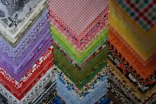 75 10 X 10 SQUARES >LAYER CAKE, CHARM PACK 100% Cotton Fabric *BEAUTIFUL COLORS*