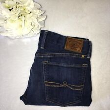 Lucky Brand Size 2/26 Ankle Fit Dark Wash Straight Leg Fit