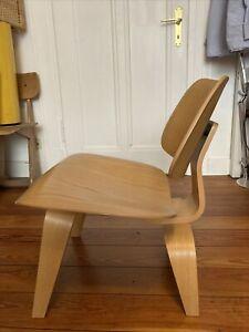 Vitra Eames Evans Design 50er Miller Lcw Lounge Stuhl Holz Calico Esche Holz Nw