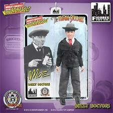 THE THREE STOOGES MOE 8 INCH POSEABLE FIGURE DIZZY DOCTORS