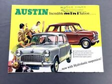 Other Manuals Literature For 1967 Austin Mini Cooper For Sale Ebay