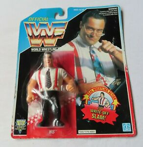 WWF Offical World Wrestling Federation - IRS Figure By Hasbro in1992