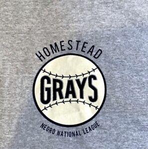 Ebbets Field Vintage Homestead Grays Logo Tshirt