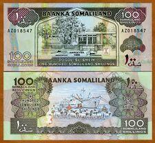 Somaliland, 100 shillings, 1996, P-5 (5b), UNC