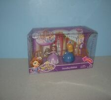 New Mattel Disney Junior Sofia The First Dancing Sisters 2 Pack Playset Figures