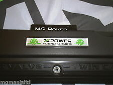 MGZS MG ZS  Cam Cover XPower MG Sport & Racing Badge Silver mgmanialtd.com