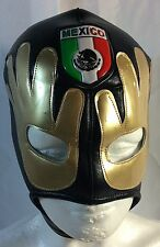 "MEXICO SOCCER WRESTLING/ LUCHADOR MASK SUPPORT YOUR TEAM ""EL TRI"" AWESOME DESIGN"